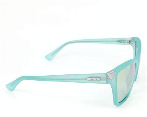 os x visio viewer lunettes de soleil guess gu 7397 85x turquoise pas cher