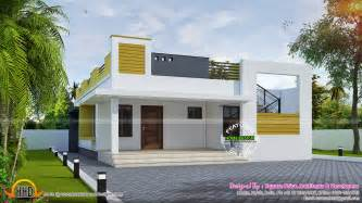simple contemporary home kerala home design and floor plans