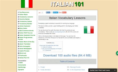 italian language test 29 best free websites to learn italian