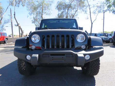 Jeep Scottsdale 2016 Jeep Wrangler Unlimited Backcountry For Sale Stock