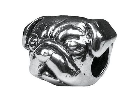 pandora pug charm save 29 99 on zable tm sterling silver pug bead charm only 29 99 free shipping