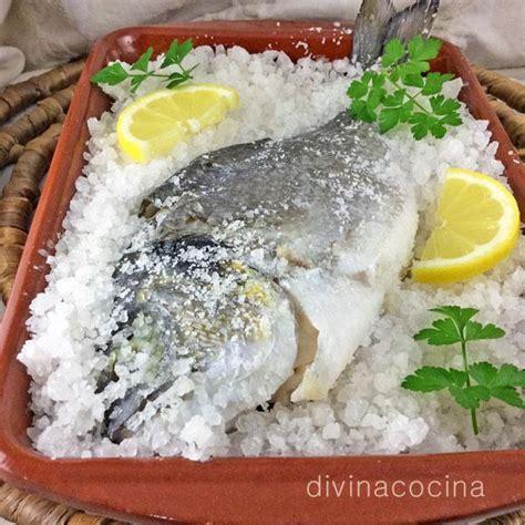 dorada al horno ala sal dorada a la sal divina cocina
