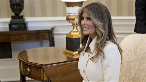 trump in oval office melania trump moves in