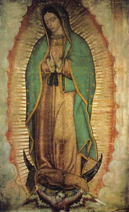 imagen de la virgen maria original la ciencia ante el misterio de la virgen de guadalupe