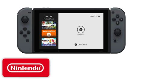 nin tendo nintendo shows the switch eshop for the time
