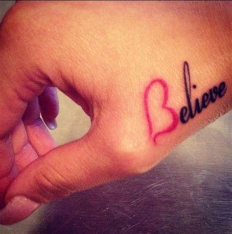 blessed tattoo on hand 25 best ideas about believe tattoos on faith