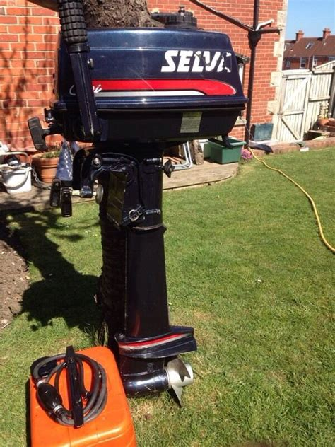 motor boats for sale bournemouth selva 5hp outboard motor in bournemouth dorset gumtree