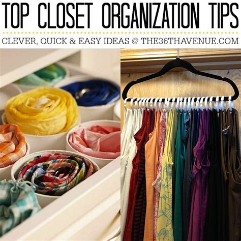 best organizing tips the 36th avenue top 10 closet organization ideas the