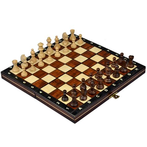best chess sets magnetic wooden tournament travel chess set 10 5 ebay