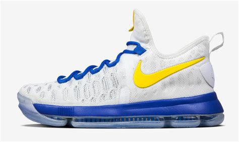 kevin durant shoes nikeid kd 9 warriors sole collector