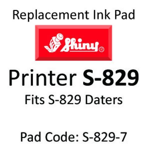 Bantalan Pad Shiny S 829d shiny 829 ink pad