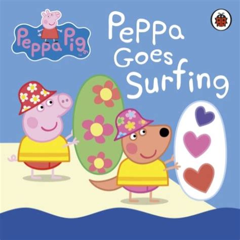 peppa pig peppa goes b01fykc198 peppa pig peppa goes surfing book review impulse gamer