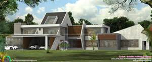 Contemporary Home Plans With Photos by Ultra Modern Contemporary House In Kerala Kerala Home