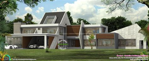 Ultra Modern Contemporary House In Kerala Kerala Home Contemporary House Plans Kerala