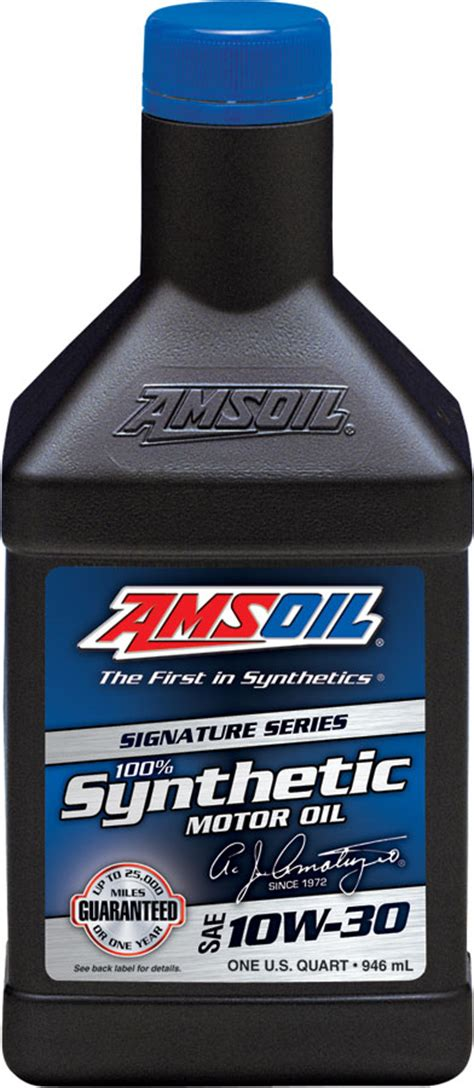 AMSOIL SAE 10W 30 Signature Series 100% Synthetic Motor