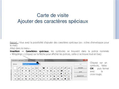 Carte De Visite Open Office by Cartes De Visites Open Office