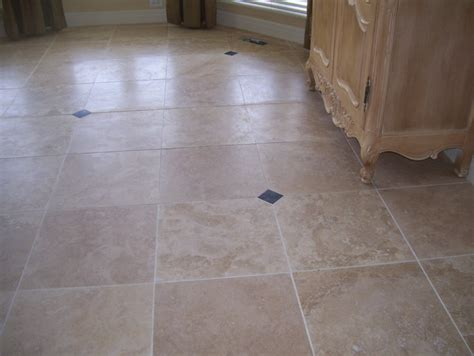 travertine flooring contemporary kitchen kansas city by custom stone tile
