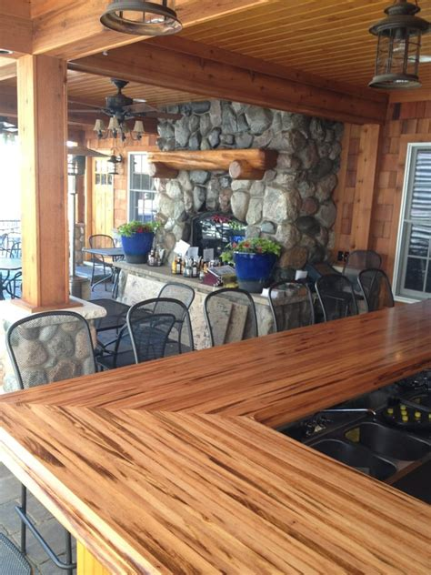 Outdoor Bar Tops by Fireplace From Bar Top In Outdoor Patio Yelp
