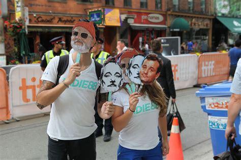 Masker Tiff by Bill Murray Feiret Med Egen Dag Toronto Festivalen Vg