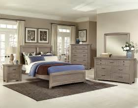Bassett Bedroom Sets Vaughan Bassett Transitions Driftwood Oak Bb61 Bedroom Group