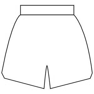 shorts template basketball shorts vector image at vectorportal