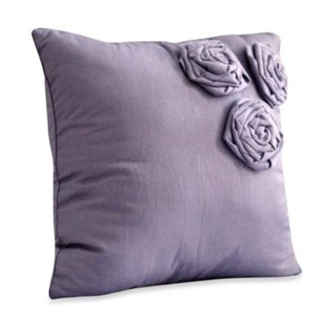 purple throw pillows for bed buy purple decorative pillows from bed bath beyond