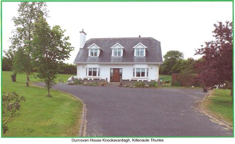 dunroven house accommodation listings slieveardagh rural development