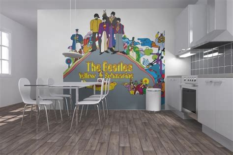 beatles wall mural beatles wall mural collection3 my desired home