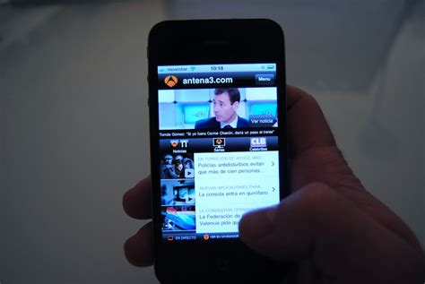 series de antena 3 modo salon antena 3 lanza su nueva aplicaci 243 n para iphone