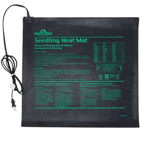 Seedling Heat Mat by Seedling Heating Mat Two Flat Size