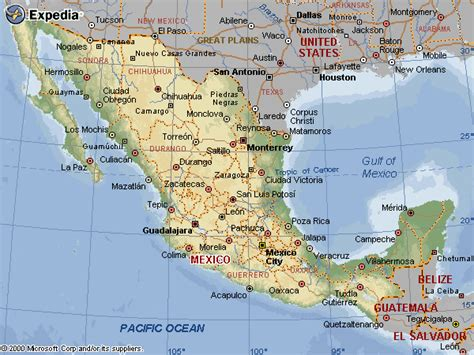 map of the country of mexico mexico maps 250 maps of mexico 3 map mexico styles w