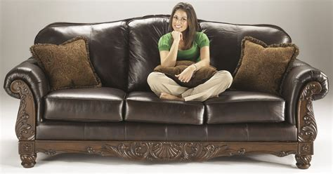 north shore sofa reviews north shore dark brown sofa from ashley 2260338