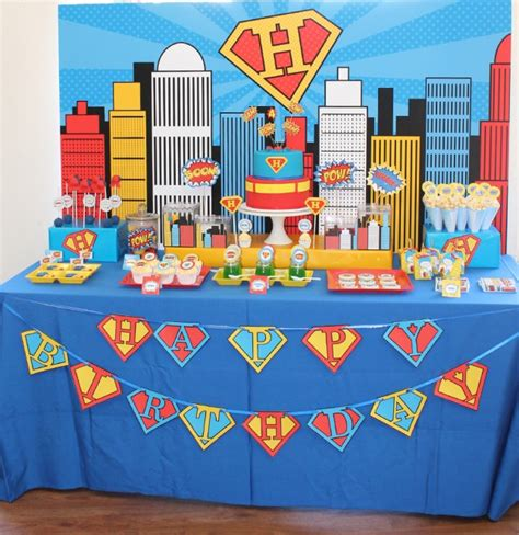 printable superman party decorations superman birthday party on anders ruff