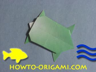 Simple Origami Turtle - turtle origami 187 how to origami easy origami
