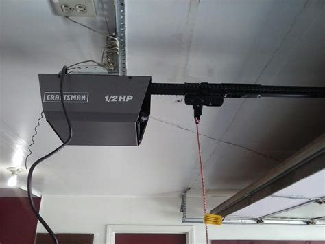 Craftsmans Garage Door Opener by New Liftmaster Garage Door Opener Installation