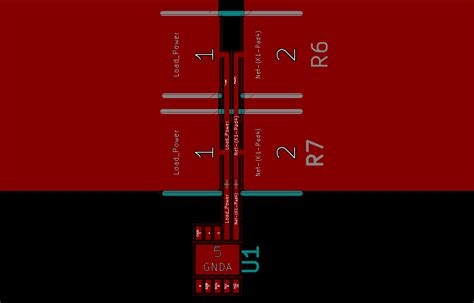 current sensing resistor recommended layout for parallel current sensing resistors electrical engineering stack exchange