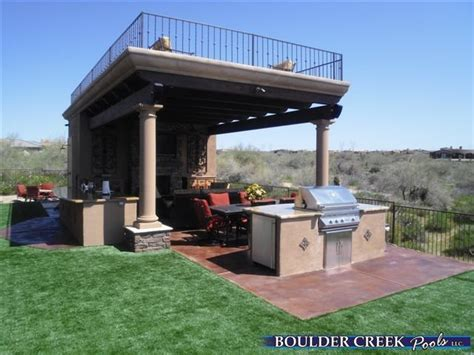 Backyard Ramada Ideas Outdoor Living Spaces Boulder Creek Pools And Spas