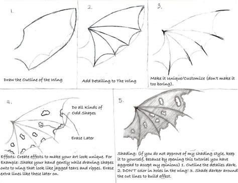 Drawing Wings by How To Draw Wings Search