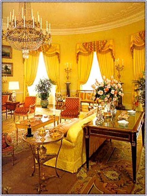 yellow oval office yellow oval room wikipedia