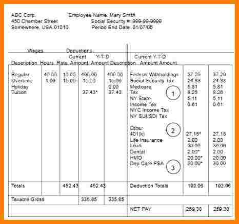 blank check stub template for excel pay stub templatefree canadian