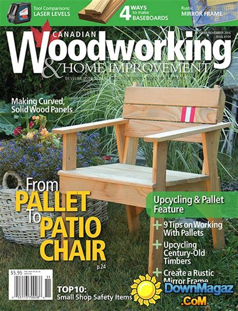 canadian woodworking home improvement octobernovember