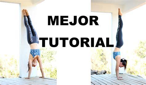 tutorial invertidas yoga parada de manos paso a paso handstand tutorial 100