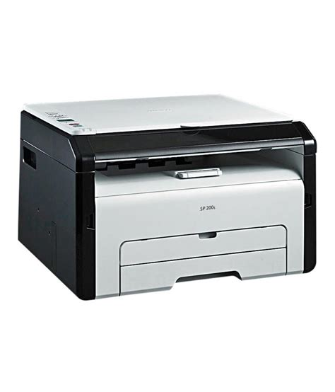 Printer Laser Jet Ricoh ricoh sp 200s multifunction laser printer print scan copy buy ricoh sp 200s multifunction