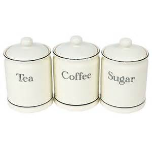 Kitchen Tea Coffee Sugar Canisters cream ceramic tea coffee sugar canisters kitchen storage jars set air