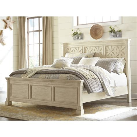 ashley furniture white bed ashley furniture bolanburg queen panel bed in white local furniture outlet