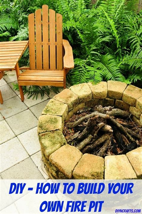 41 Best Images About Diy Fire Pits On Pinterest How To Make A Backyard Pit Cheap