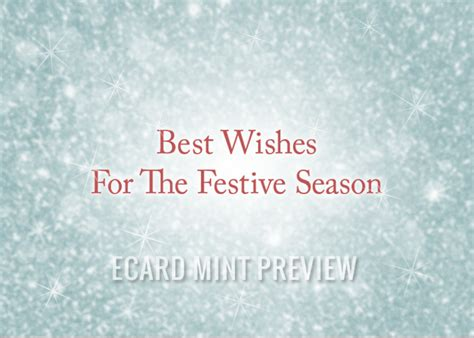 best wishes of the season preview our and new year e cards ecard