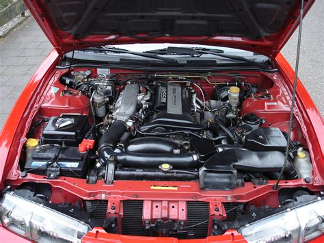 how do cars engines work 1998 nissan 200sx security system file 200sx zedition enginebay jpg wikimedia commons