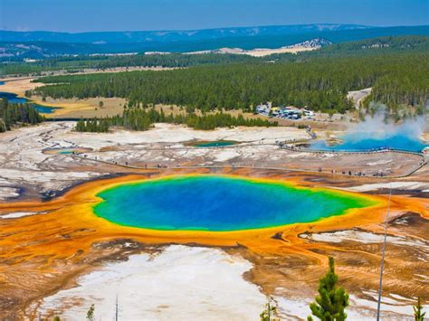 Explore Yellowstone National Park : TravelChannel.com ... Grand Prismatic Spring Facts