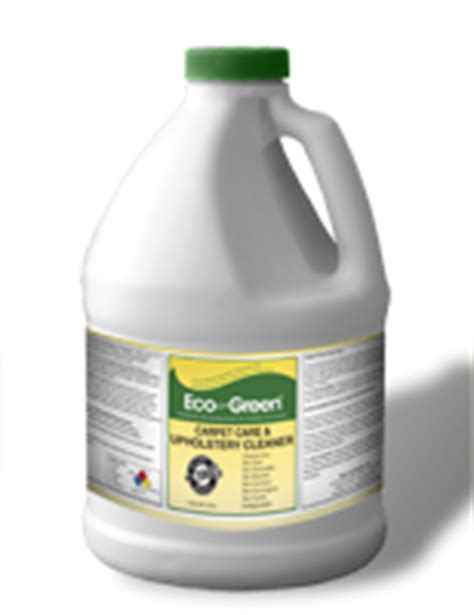 Green Upholstery Cleaner by Carpet Cleaning Products